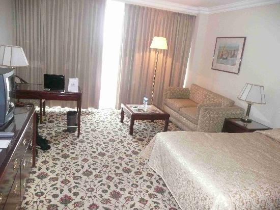 Grand Hotel Kinshasa : hotel room 549