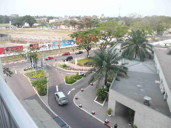 Grand Hotel Kinshasa : view from room 549