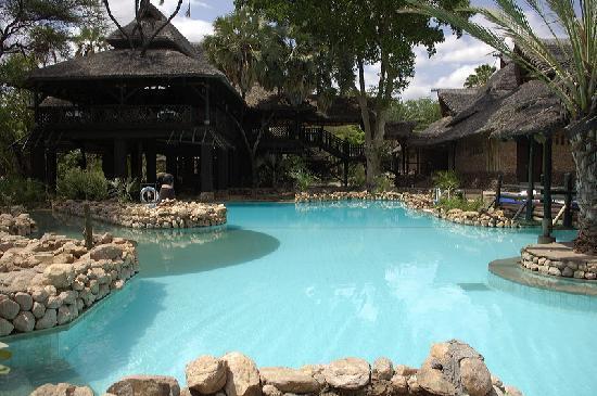 Sarova Shaba Game Lodge : pool area