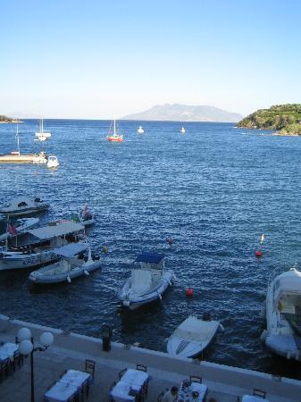 Poseidon Hotel: View from the bedfoom balcony