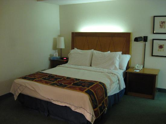 Residence Inn Louisville East: Note the light at the top of the headboard