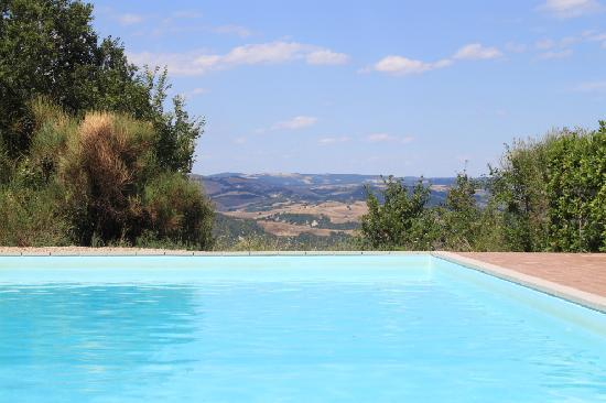 Agriturismo Fonte Martino: The pool again