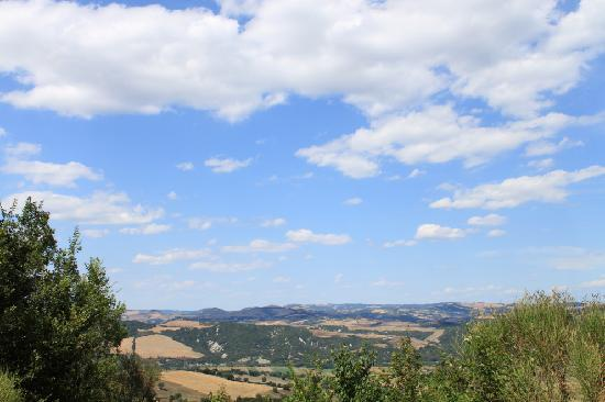 Agriturismo Fonte Martino: The view from the room