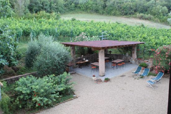 Agriturismo Fonte Martino: The dining room