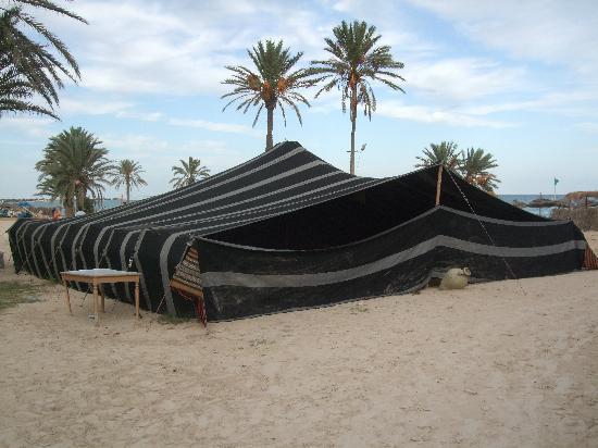 Seabel Aladin Djerba: tente berbere