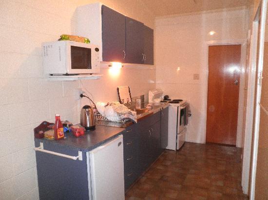 Arcadian Motel: Nice super clean kitchen
