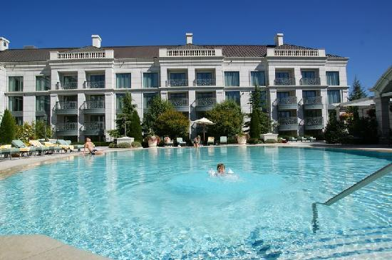 Pool Picture Of Grand America Hotel Salt Lake City Tripadvisor