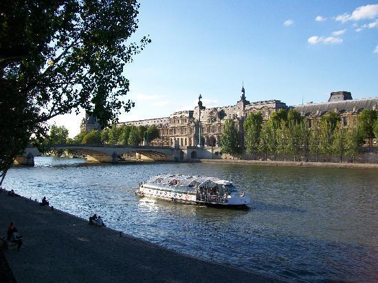 Paris, Frankrike: The Seine