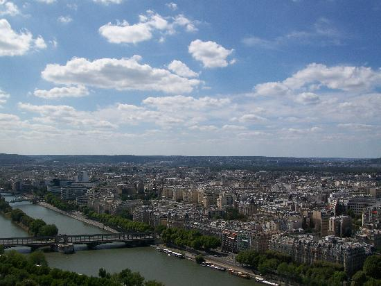 Parijs, Frankrijk: View from Eiffel Tower