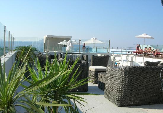 Almyrida Beach Hotel: Rooftop Terrace