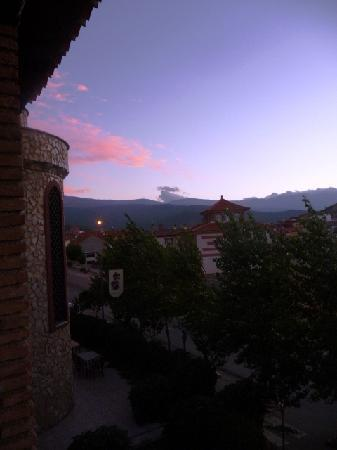 La Calahorra, Ισπανία: From the hotel's balcony