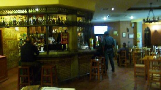 Hospederia del Zenete: Hotel Bar