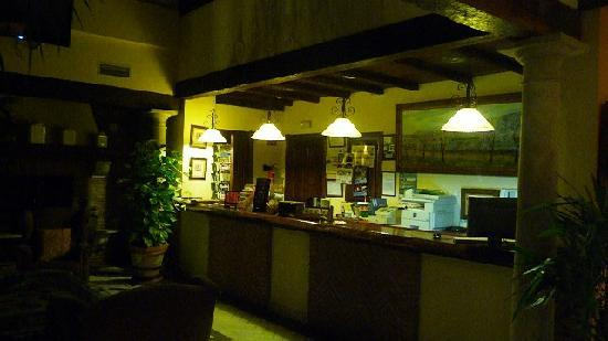 Hospederia del Zenete: Hotel Reception