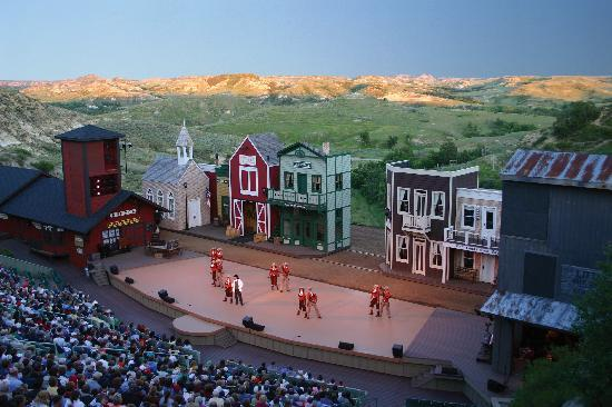 Medora Musical in Daylight