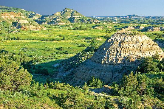 Scenic Medora Badlands