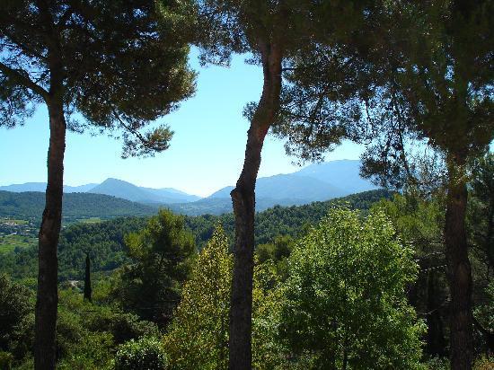 Vaison-la-Romaine, France : View from the trois pins