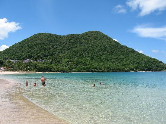 St. Lucian by Rex Resorts : The beach at the Rex