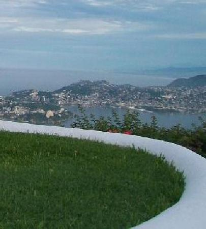 View of Caleta Acapulco, from Las Brisas villa