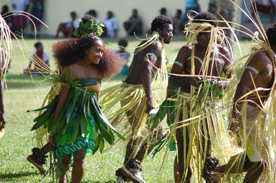 Jabsina Guest House: Open day at Vanuatu TAFE college