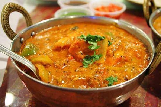 New Punjab Indian Restaurant: chicken jalfrezi