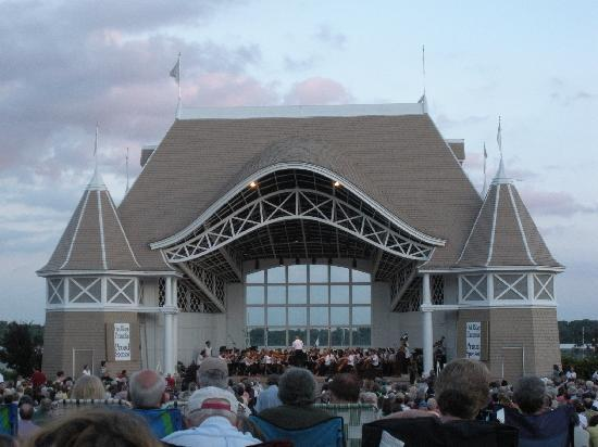 Lake Harriet Band Shell : Lake Harriet Bandshell