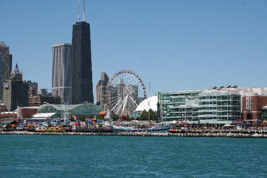 Chicago, IL: View from the tour boat