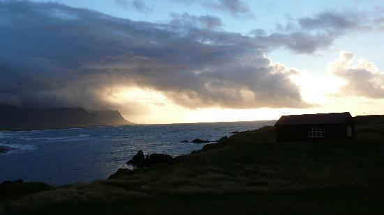 Budir, Iceland: view from room 17