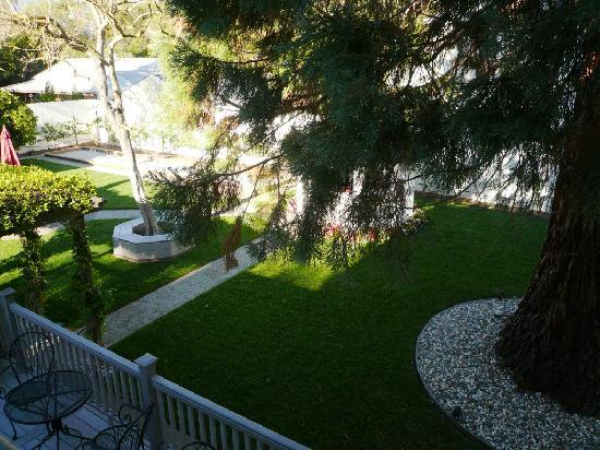 Arbor Guest House : Morning view from Bella Vista window