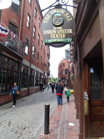 Old Boston back streets