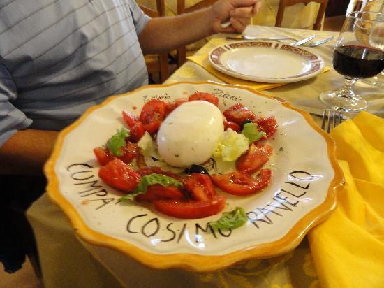 Cumpa' Cosimo : Caprese salad