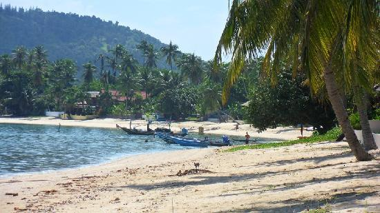 Como Resort Koh Samui: The beach outdide our cabin