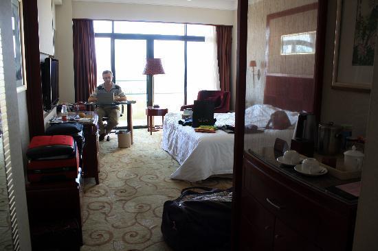Farrington Hotel: notre chambre au 6ème étage