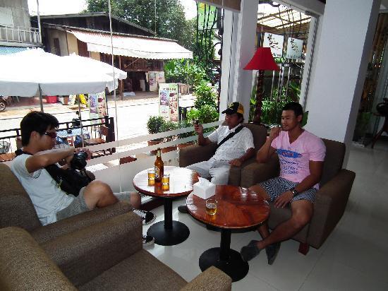 Lao Silk Hotel: Lao Silk Hotel's cafe'