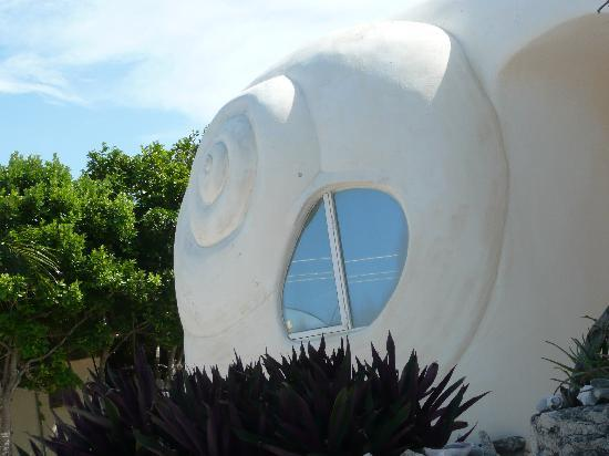The Shell house: The Incomparable Shell House, Isla Mujeres -- little shell house