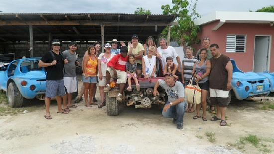 Bavaro, Dominican Republic: fun buggy group