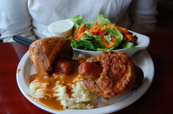 Cheshire Cheese Inn: Toad in the Hole