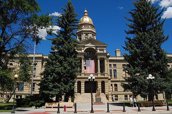 We initially traveled to Cheyenne to visit the capitol builiding, but found so much more there!