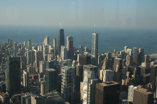 Chicago, IL: Aussicht vom willis Tower