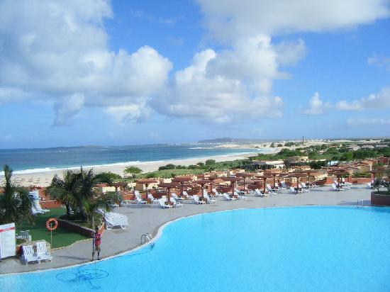 Royal Horizons Boa Vista : View from the elevated restaurant