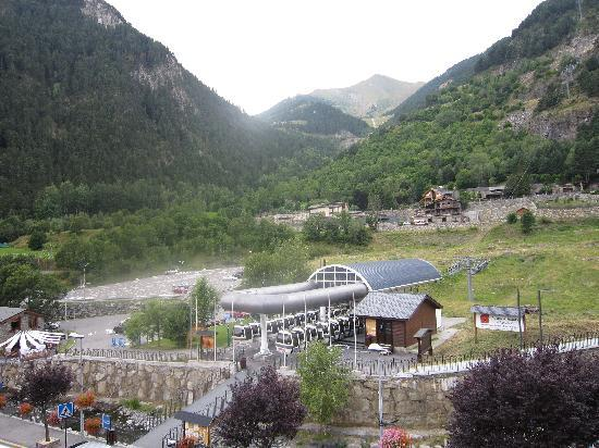 Hotel Montane: View from bedroom.