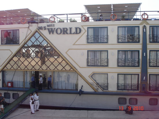 Noga Day Tours : M/S Ms World 5* cruise for Nile cruising