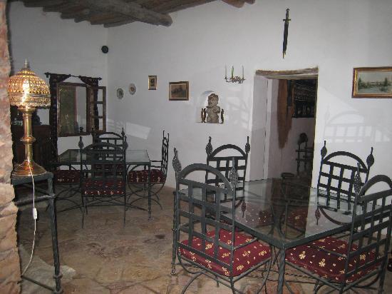 Goulmima, Marruecos: la salle à manger d'hiver