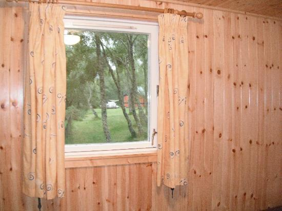Kiltarlity Lodges: window view