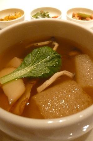 The Shilla Seoul: 八仙でのコース料理より