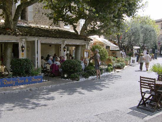 Mougins, France: a quiet lunch