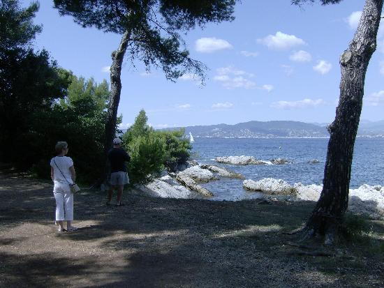 Mougins, Γαλλία: St. Honorat - one of the islands