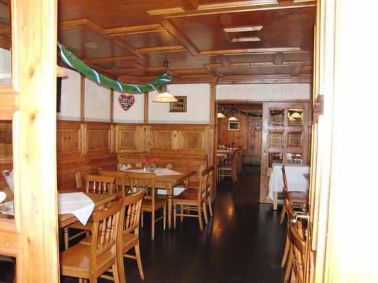 Gasthaus Ruf: das Restaurant