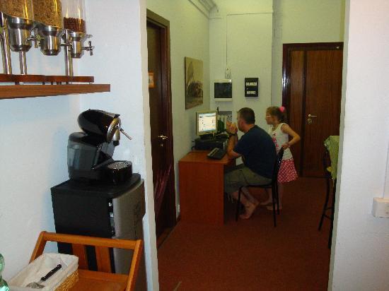 Bed a  San Pietro Roma: free internet access .