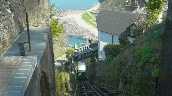 Bay Valley of Rocks Hotel: Water power railway