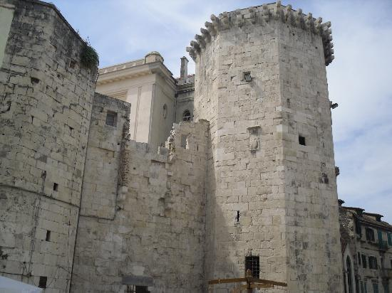 Trogir, Kroatië: In Split old town